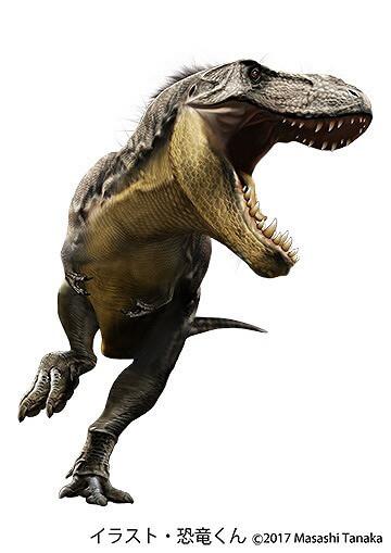 夏休みに都内で恐竜企画展 恐竜くんイラスト化石レプリカもの1枚目