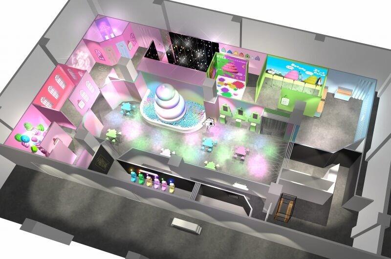 「うんこミュージアム YOKOHAMA」フロアイメージ